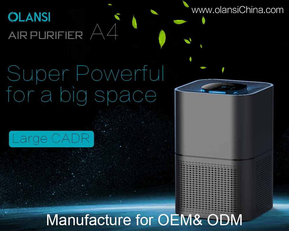 Olansi Healthcare Co., Ltd Offers a Wide Range of Air Purifiers Equipped with the Latest Features for Household, Commercial and Automotive Applications